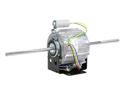 Fan Coil Motor Double Shaft 4 Poles 6 Speed