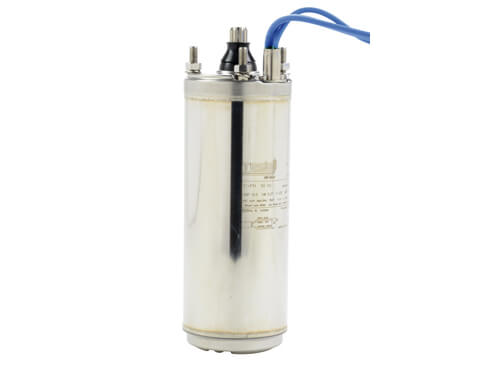 4 submersible pump motor water filled singlephase 230 v